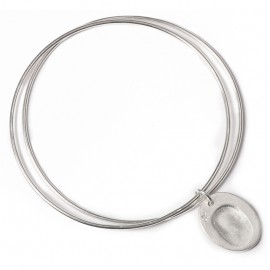 Double Bangle with Standard Charms