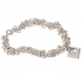 Multi-link Chain Charm Bracelet with Small Charms