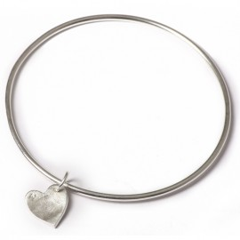 Single Bangle with Small Charms