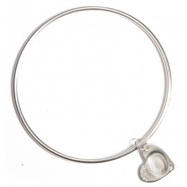 Single Bangle with Standard Charms