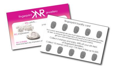 Jewellery Loyalty Cards