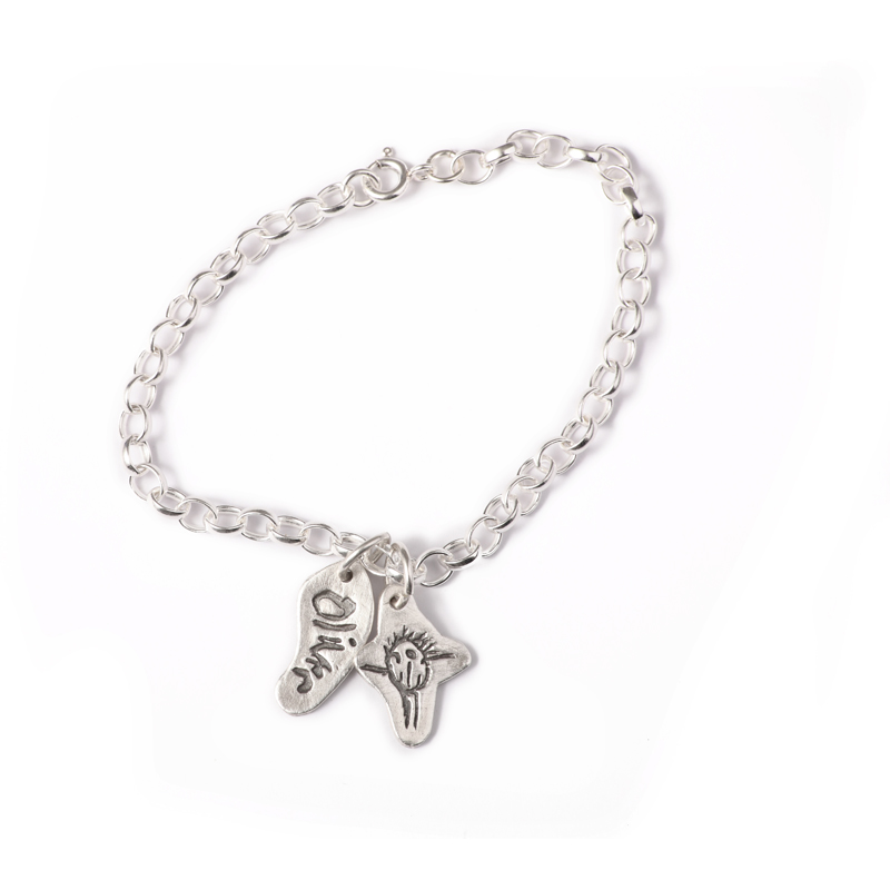 Chunky Belcher Chain Charm Bracelet with Standard Charms