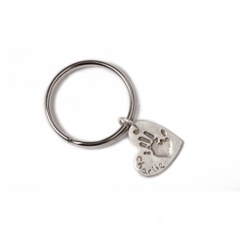 Double Keyring with Two Standard Charms